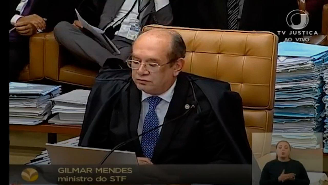 Fachin e Gilmar se estranham no plenário