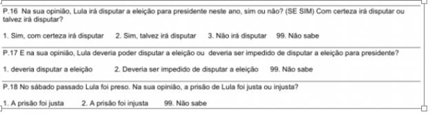 Para Saber Se O Cidado Achou A Priso De Lula Justa Ou Injusta Quando Misturam As Coisas Pesquisa Pode Mais Confundir Do Que Esclarecer