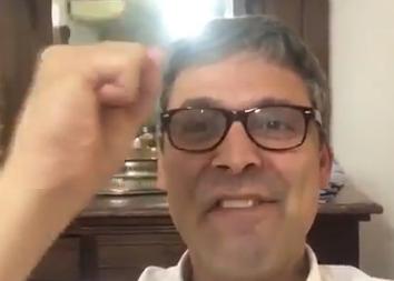 """VÍDEO: """"Viva Gleisi! Agora é liberdade para Lula!"""""""