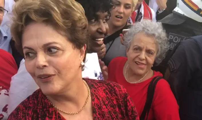 VÍDEO: Dilma e seu Lula 'registradíssimo'