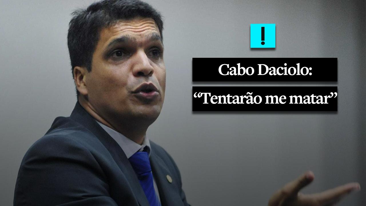Cabo Daciolo com medo dos Illuminati