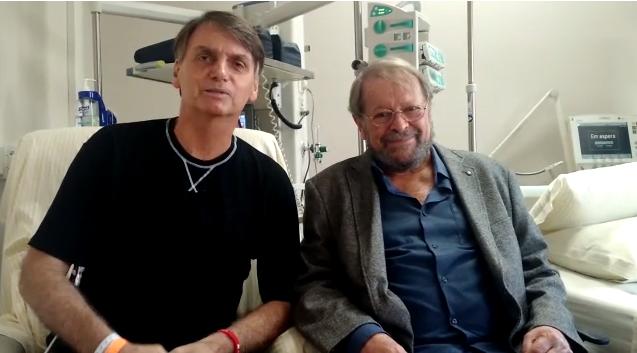 VÍDEO: Jair Bolsonaro e Carlos Vereza