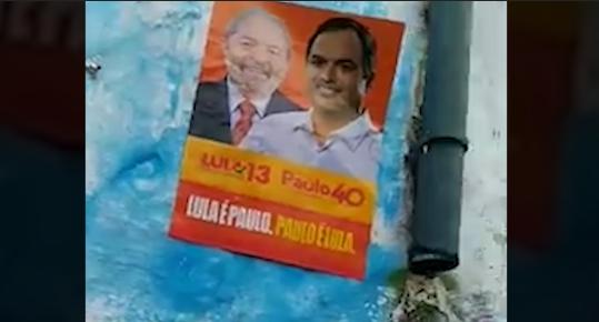VÍDEO: Lula ainda é candidato em Pernambuco