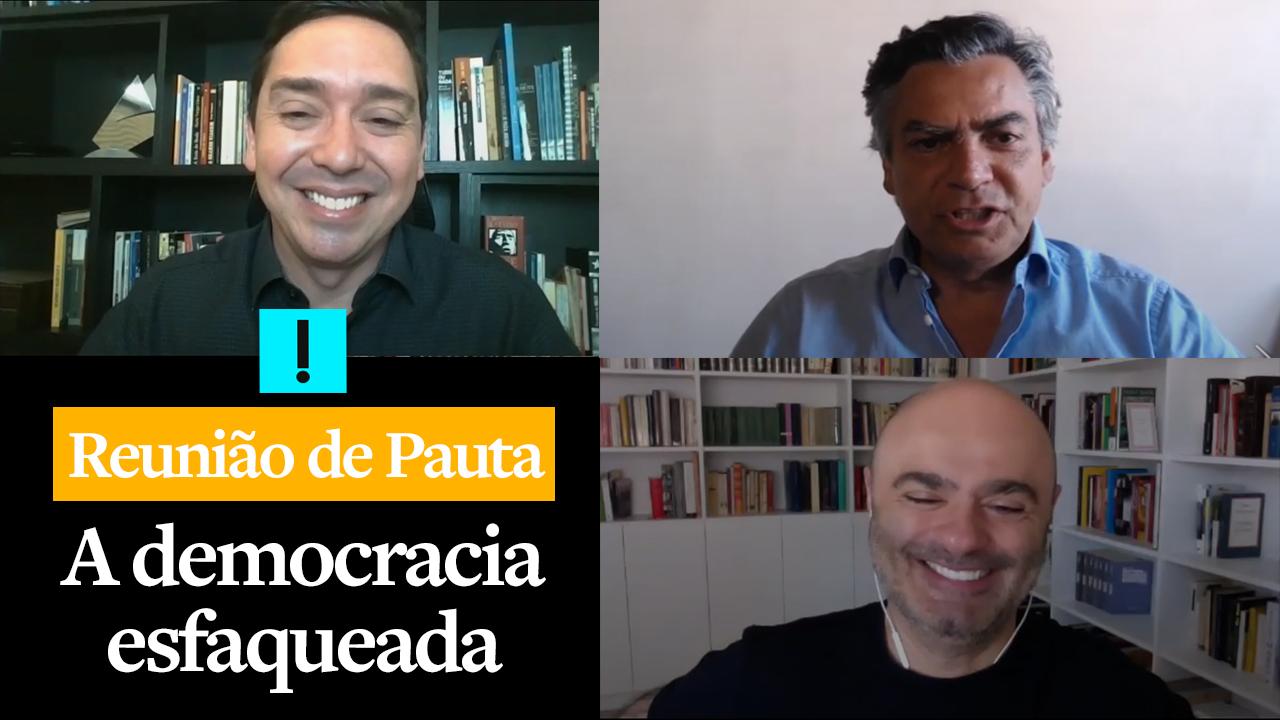 REUNIÃO DE PAUTA: A democracia esfaqueada