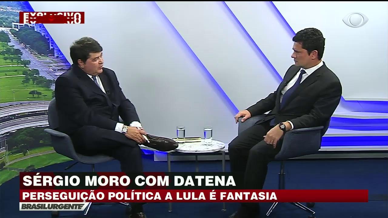 AO VIVO: Moro dá entrevista a Datena