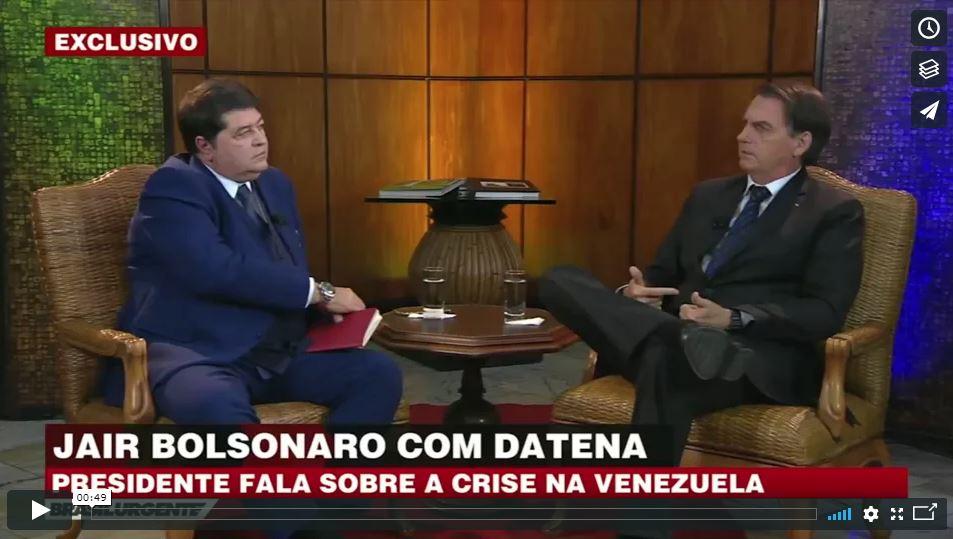 """167443a6a2c Vídeo – """"Vai apanhar de graça da imprensa"""""""