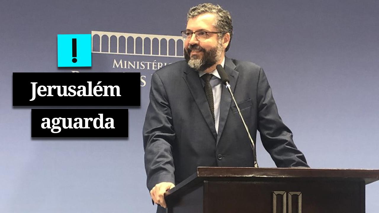 Ernesto evita confirmar transferência de embaixada para Jerusalém
