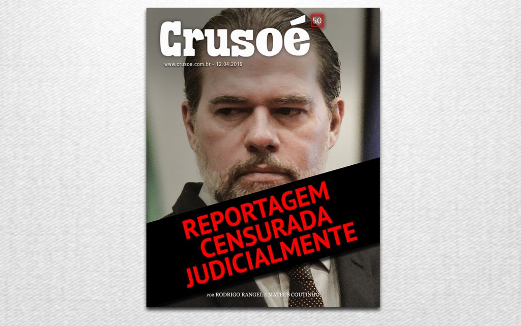 Resultado de imagem para Jornal Nacional cita censura a Crusoé e O Antagonista