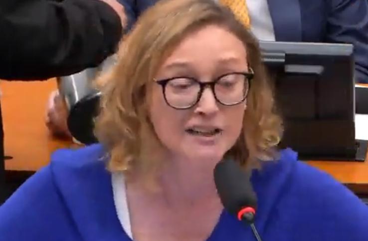 Vídeo: Maria do Rosário empurra deputados no plenário