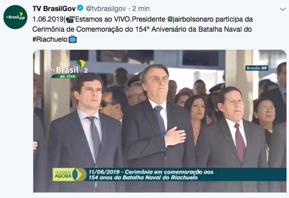 Prontos para a batalha, Sergio Moro e Bolsonaro juntos, o mal não vencerá o bem