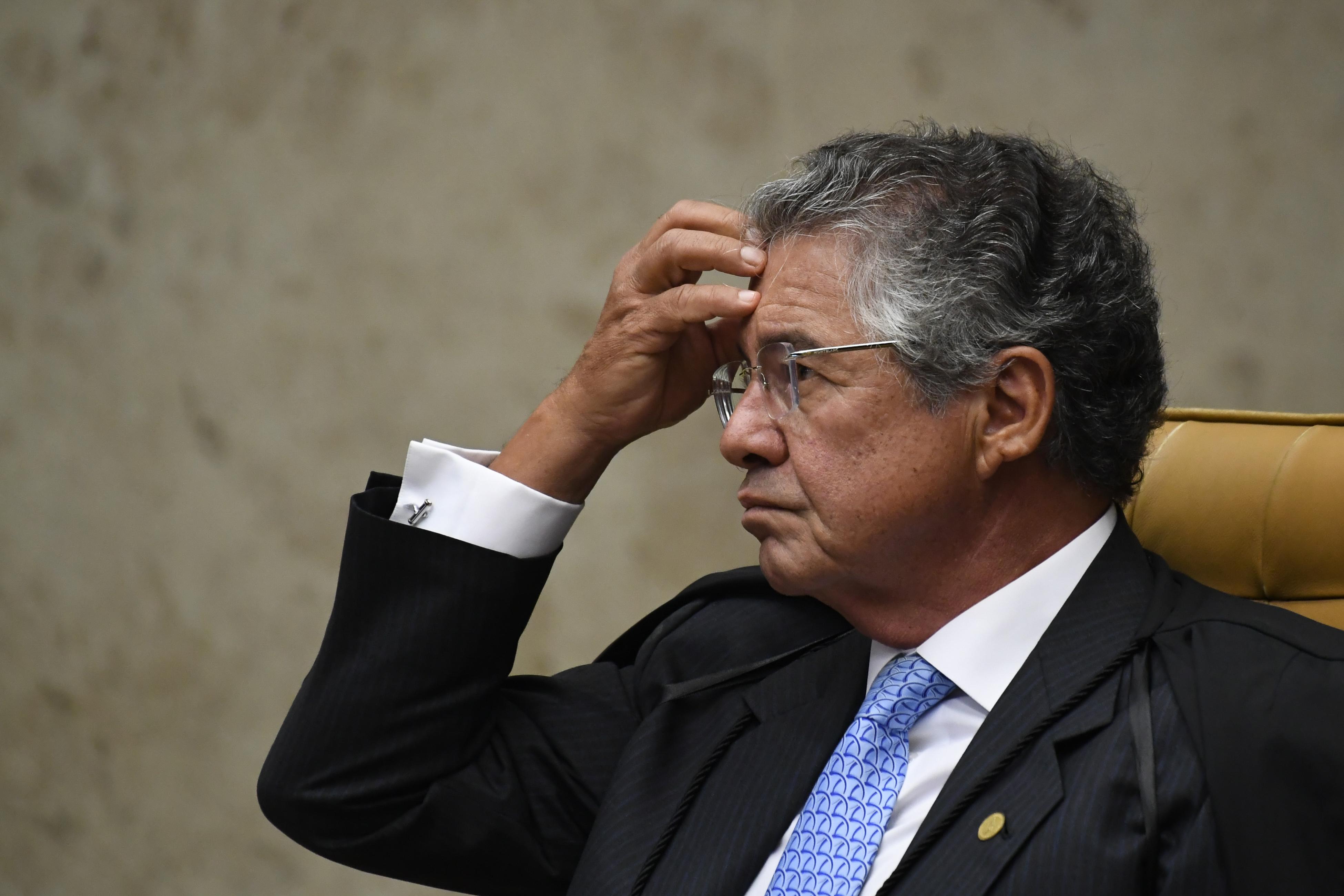 Vídeo: Marco Aurélio critica inclusão do Coaf em julgamento