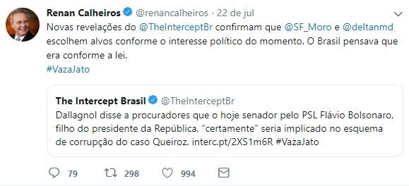 Renan silenciou - O Antagonista