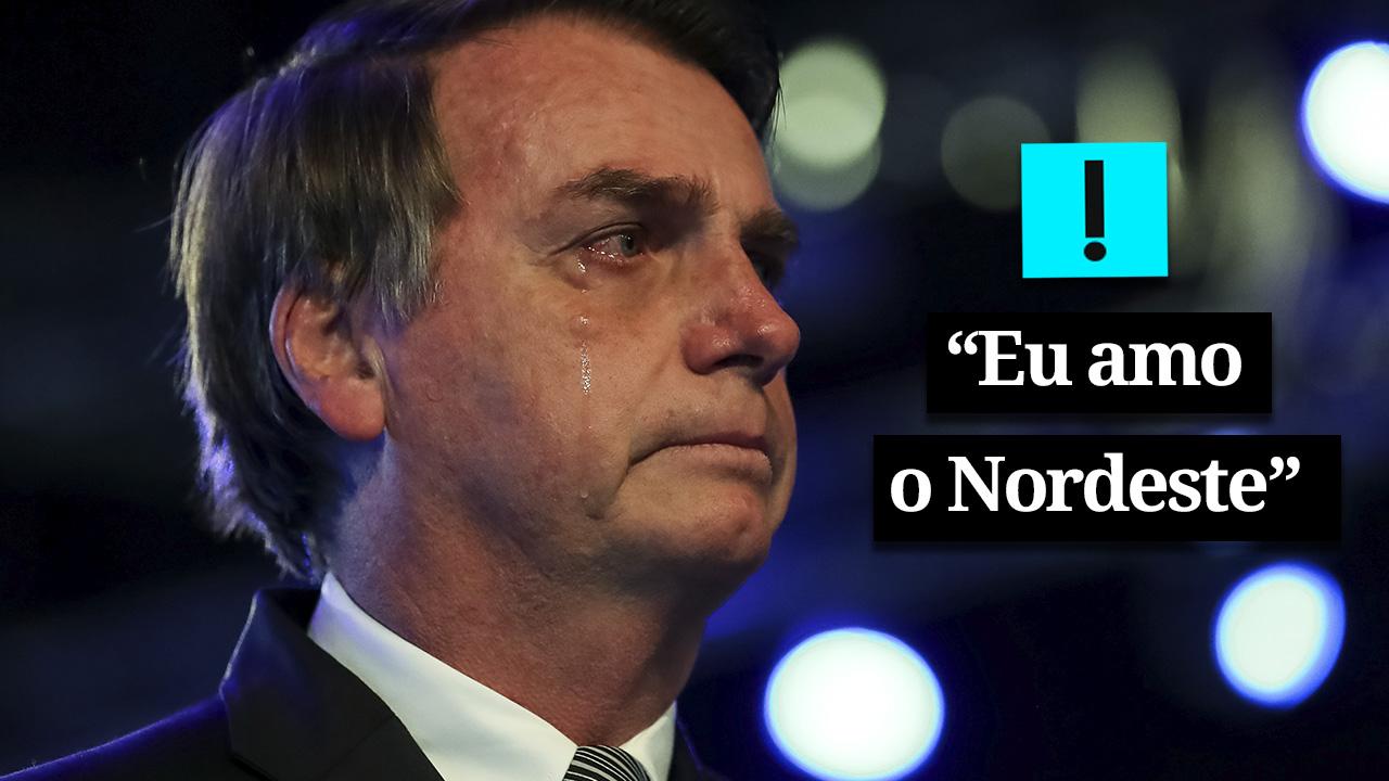 """Bolsonaro: """"Eu amo o Nordeste"""""""