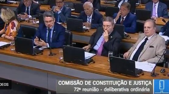 AO VIVO: reunião da CCJ no Senado