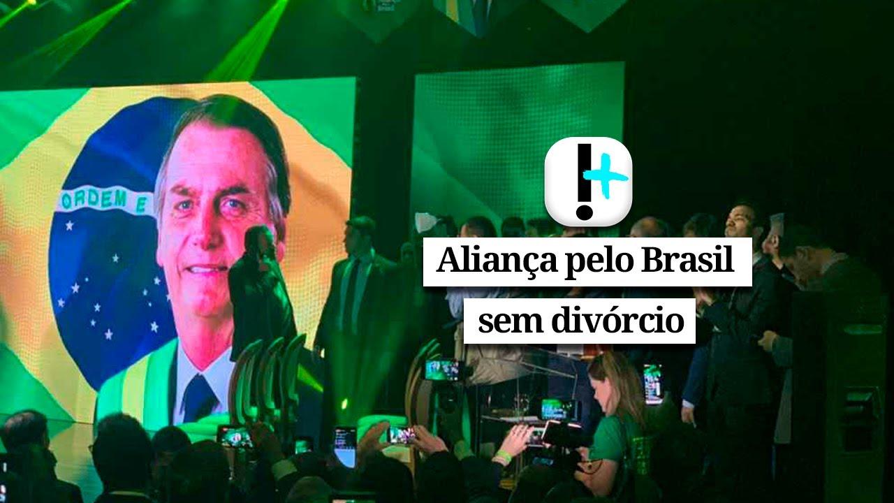 Vídeo: bolsonaristas garantem que Aliança pelo Brasil é sem divórcio