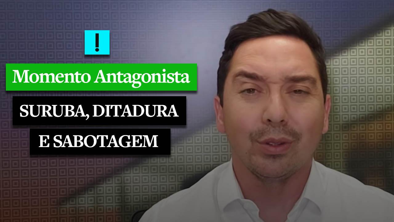 Momento Antagonista: suruba, diplomacia e sabotagem