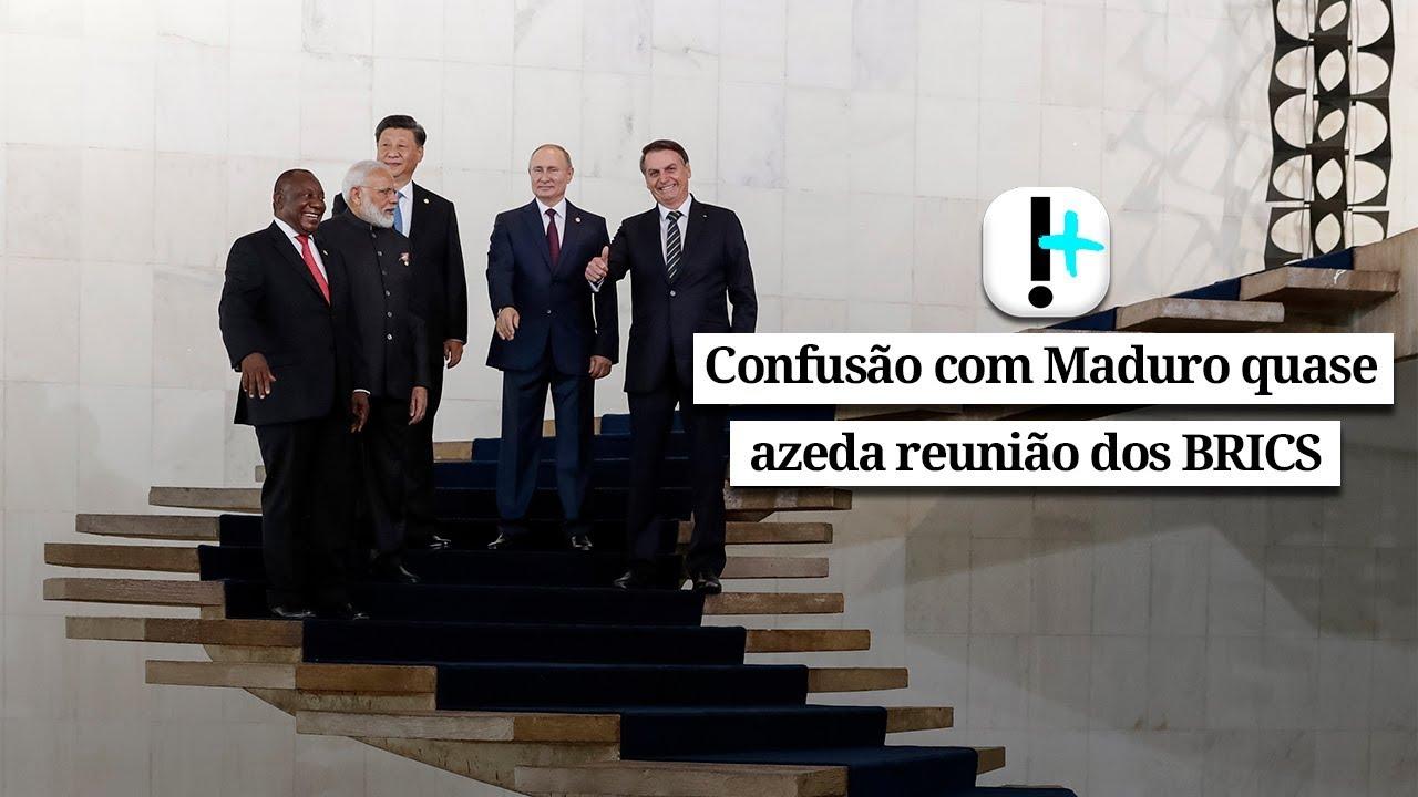 Vídeo: Confusão com Maduro quase azeda reunião dos BRICS