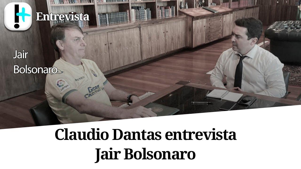 Entrevista exclusiva com Jair Bolsonaro