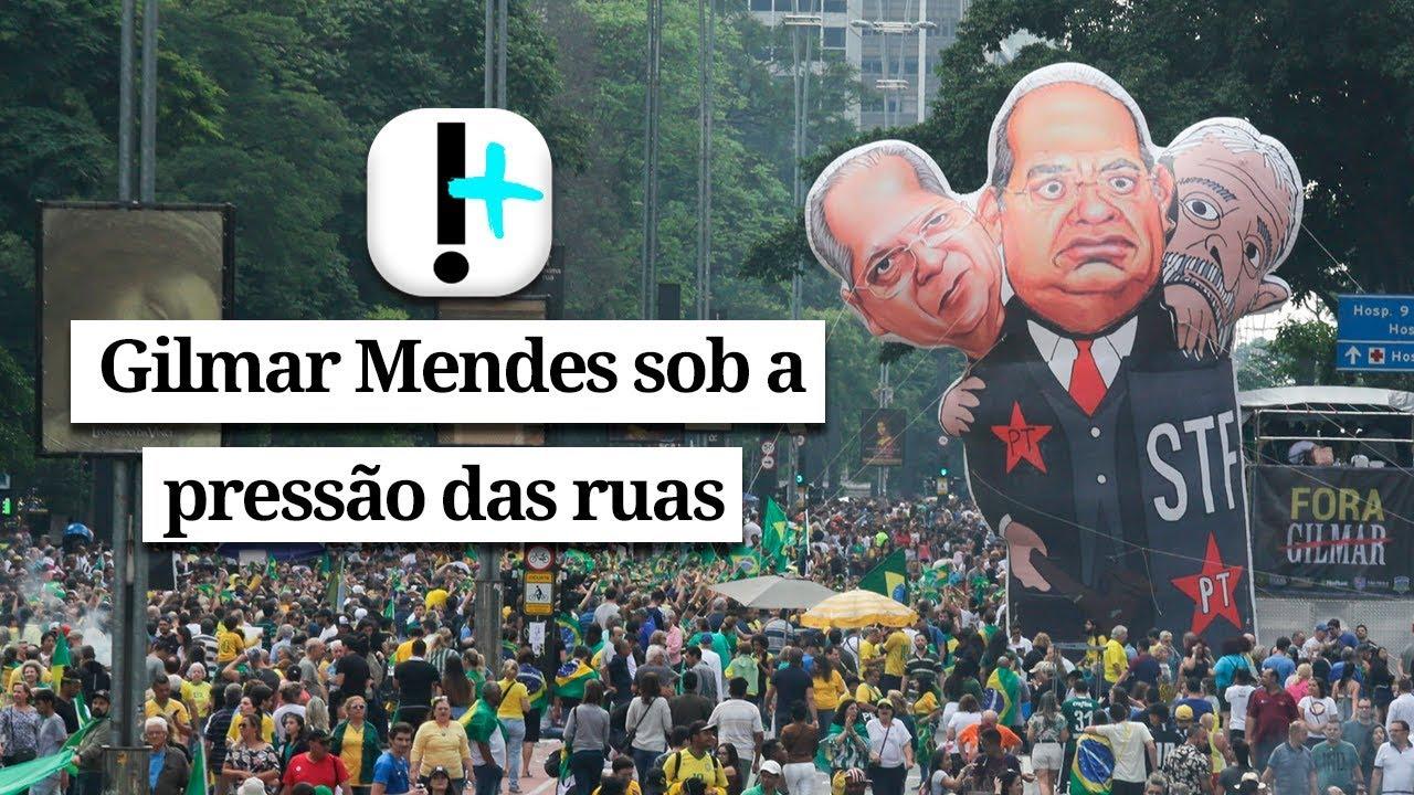 Vídeo: Gilmar Mendes sob a pressão das ruas