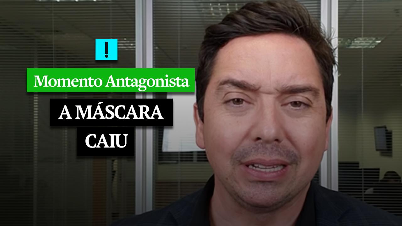 MOMENTO ANTAGONISTA: A MÁSCARA CAIU