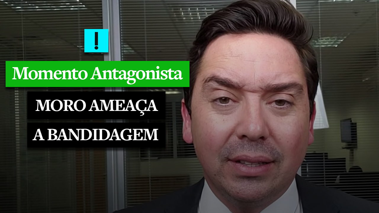 MOMENTO ANTAGONISTA: MORO 'AMEAÇA'