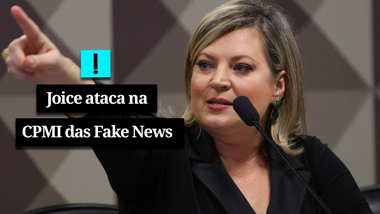 Vídeo: Joice ataca na CPMI das Fake News