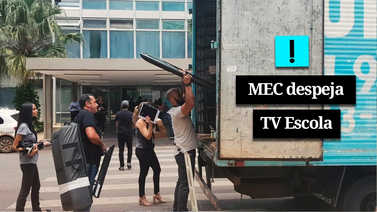 Vídeo: MEC despeja TV Escola