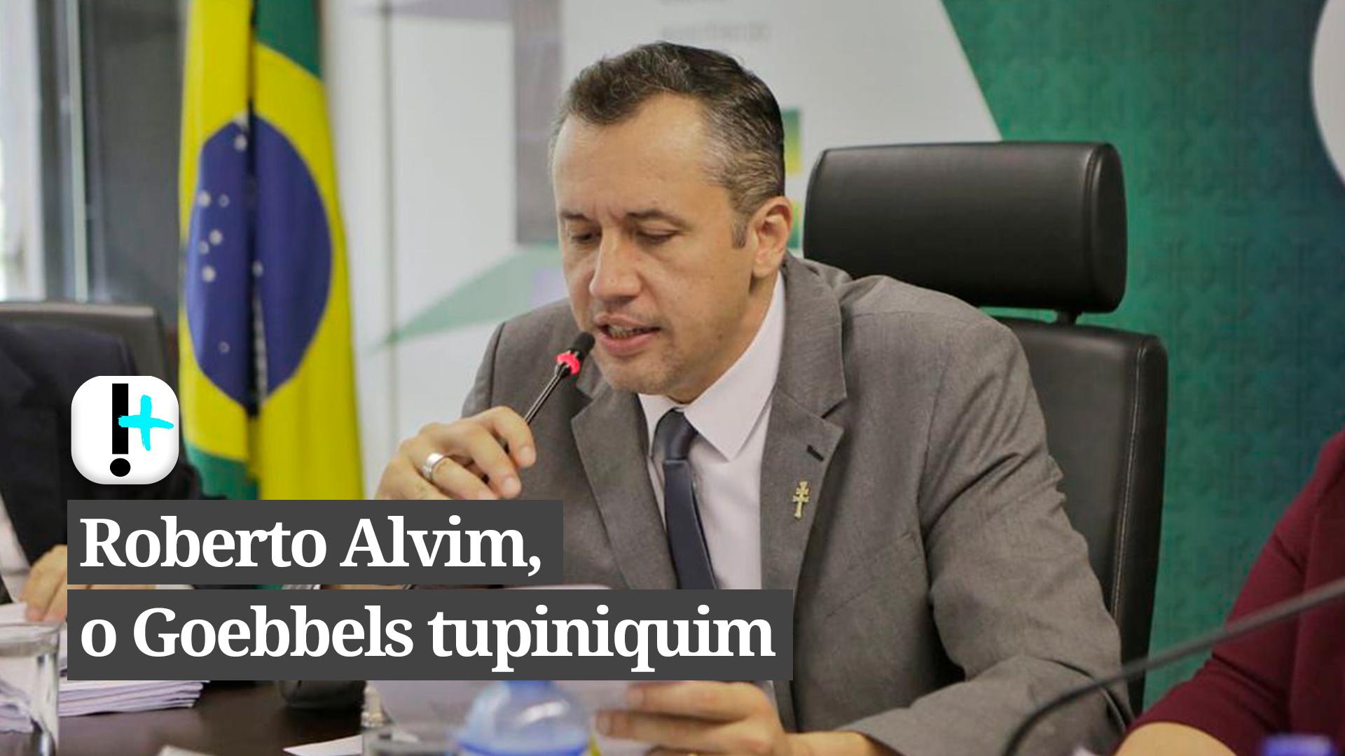 Vídeo: Roberto Alvim, o Goebbels tupiniquim