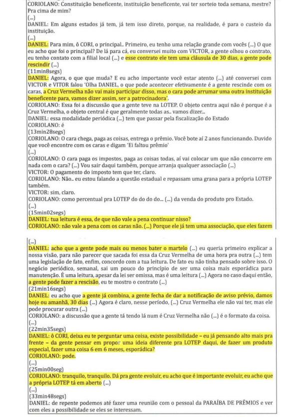 lotep2 - CALVÁRIO: O Antagonista traz trecho da delação de Daniel Gomes que cita presidente e vice da Cruz Vermelha em negócio com loteria da Paraíba