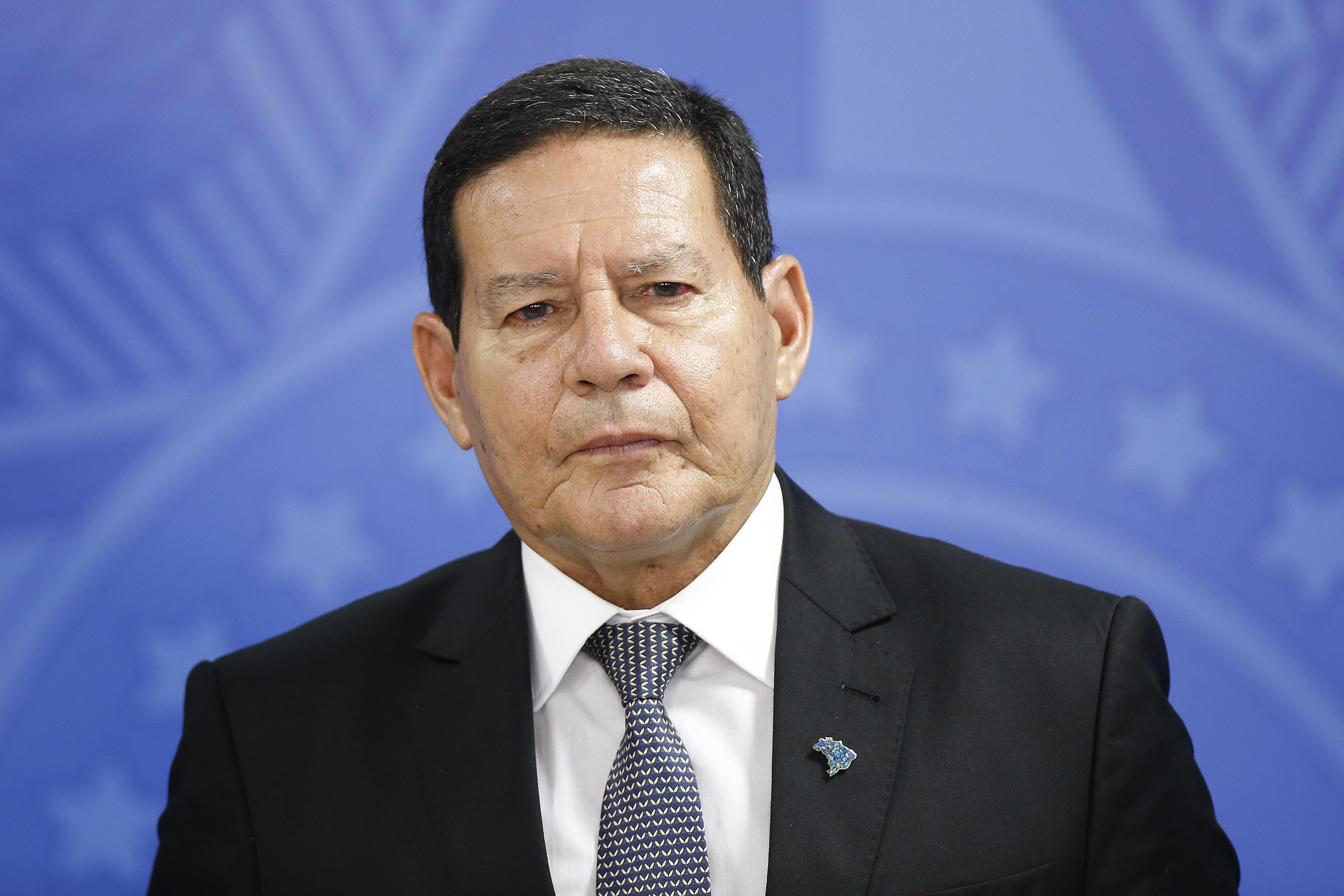 IMAGEM: Mourão diz que imagem do Brasil é 'atacada de forma injusta'