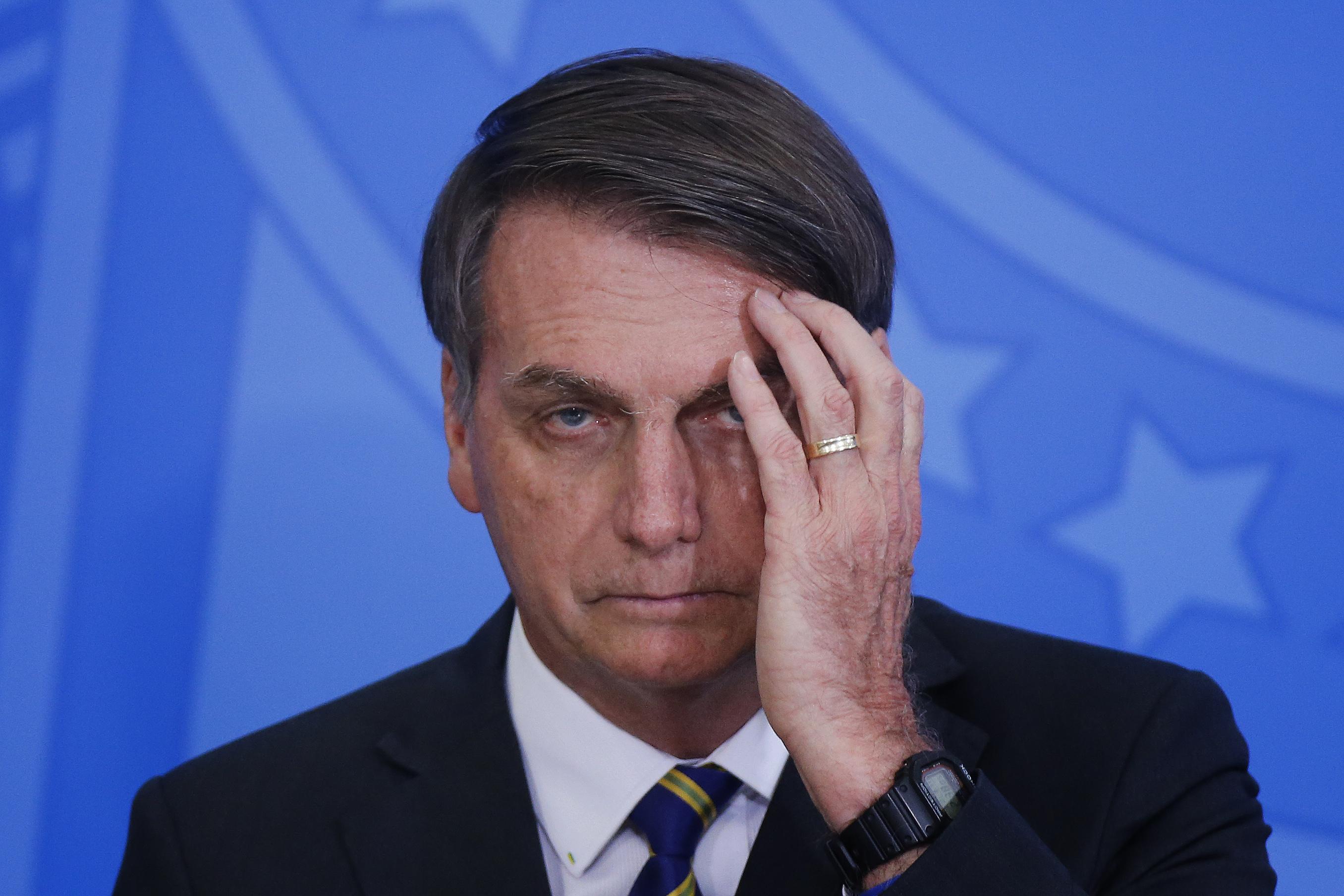 Renovamos os nossos parabéns a Bolsonaro