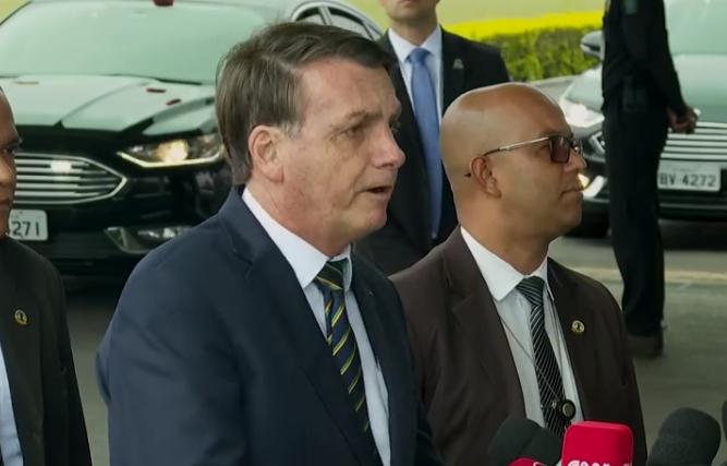 """Bolsonaro: """"Não adianta a imprensa botar na minha conta"""""""