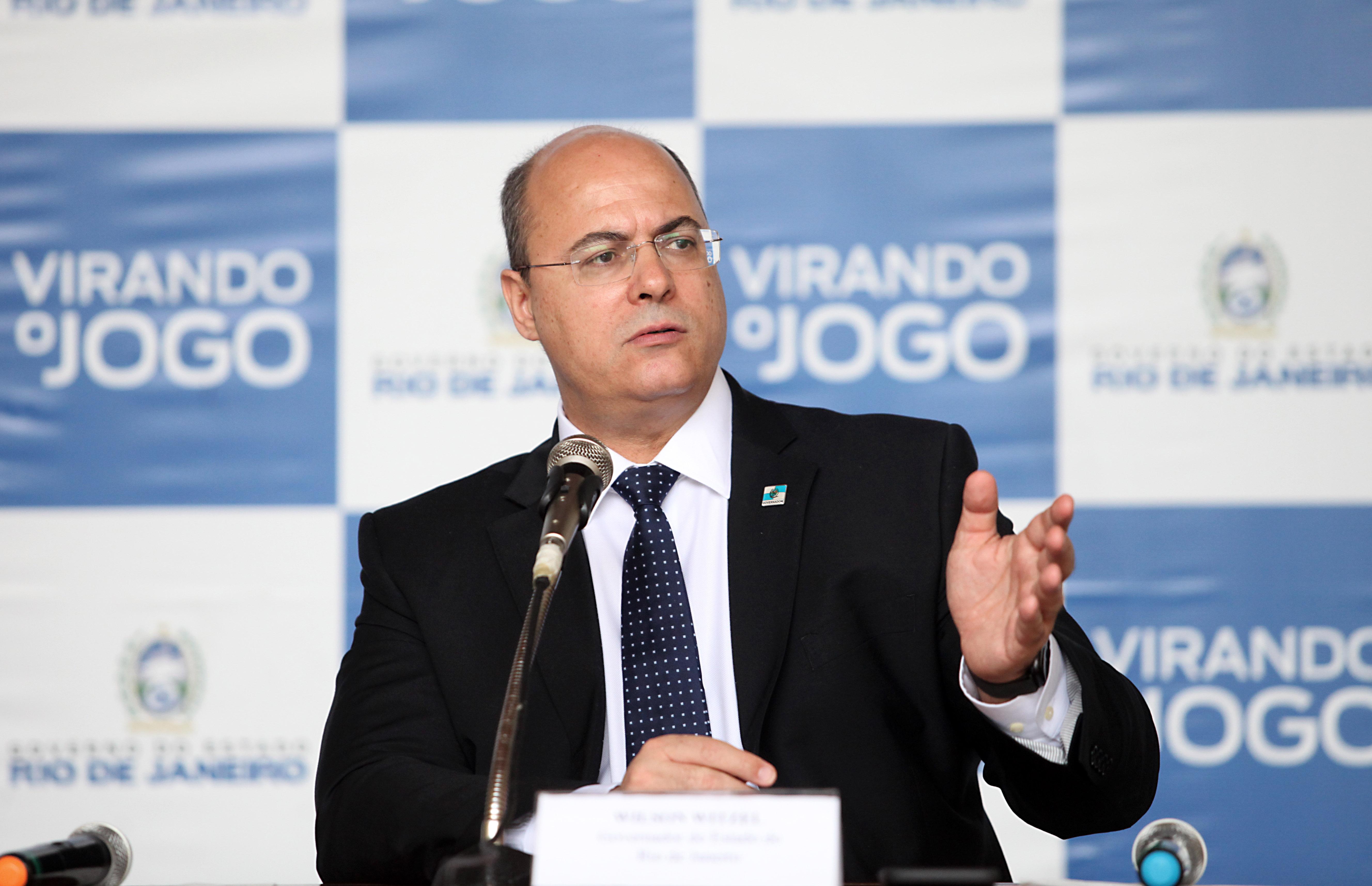 Abertura de impeachment de Witzel é publicada no Diário Oficial