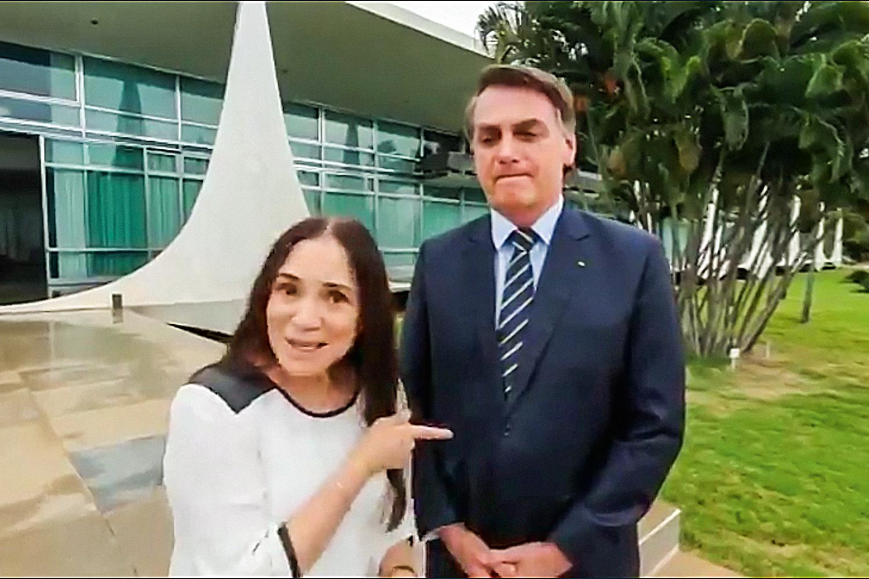 """Governo estuda """"plano B"""" para Regina Duarte - O Antagonista"""