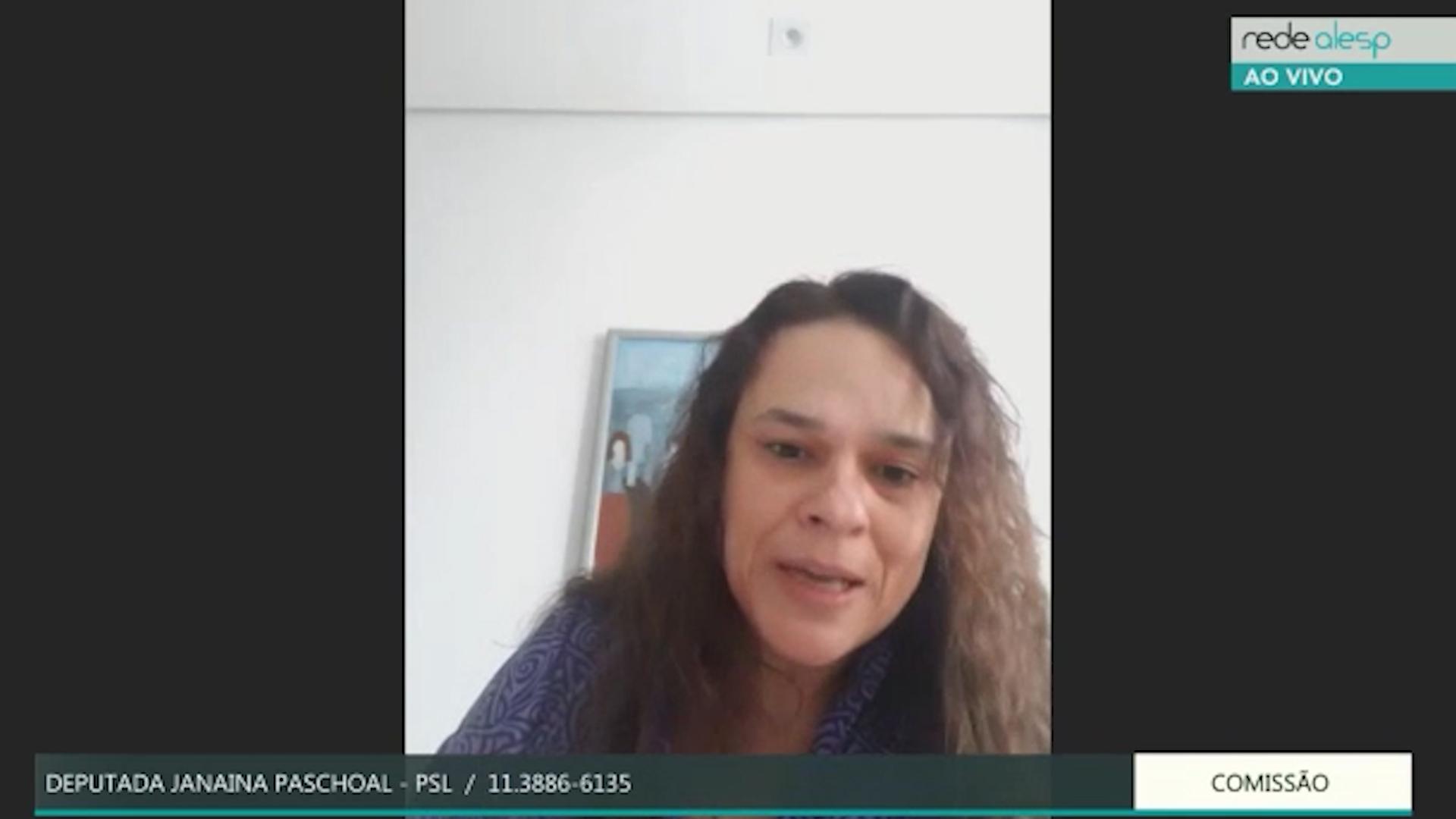 Em live com a procuradora-geral de SP, Janaína diz que formalização de contrato dos respiradores foi 'a posteriori'