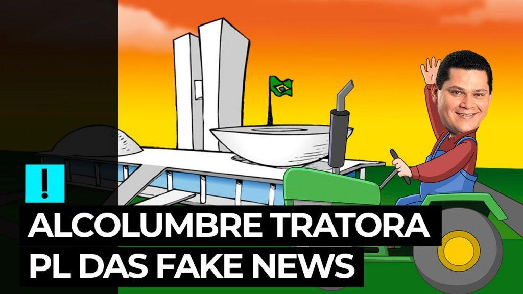 Vídeo: Alcolumbre tratora PL das Fake News