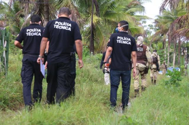 Polícia faz reconstituição da morte do miliciano Adriano