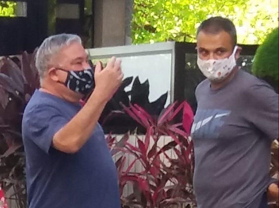 Desembargador que humilhou guarda municipal agora usa máscara; veja as fotos