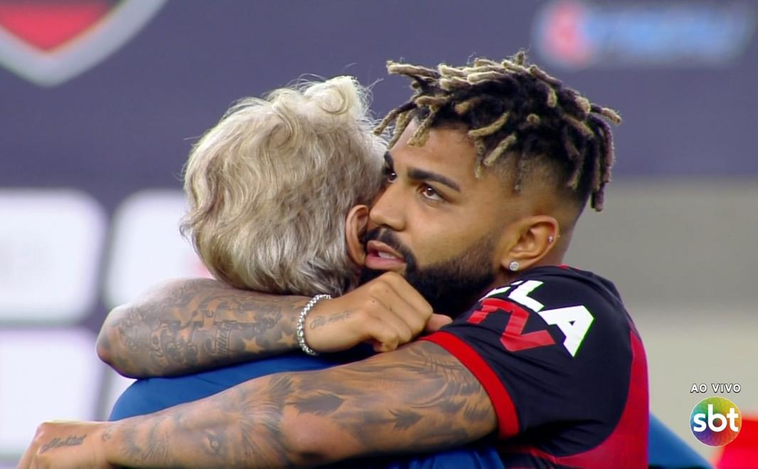 SBT tem audiência histórica com Flamengo x Fluminense