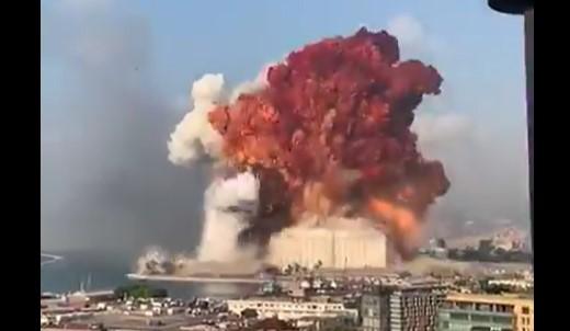 Vídeo: Beirute tem explosão em área portuária - O Antagonista