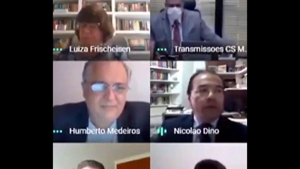 Vídeo: Aras bate boca com procurador em sessão do Conselho Superior do MPF