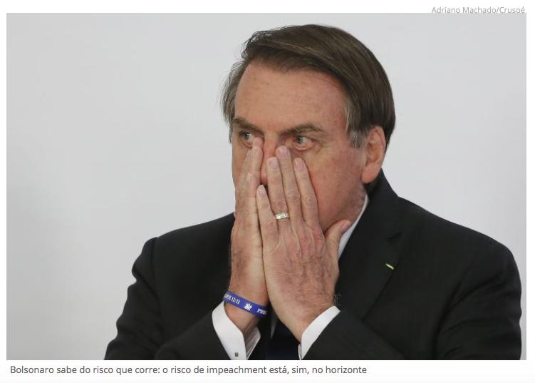 bolsonaro se mostra perplexo com possibilidade de Impeachment