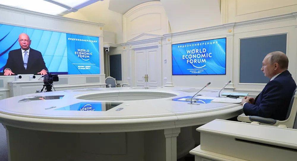 Em Davos, Putin alerta para dominância das Big Techs dos EUA