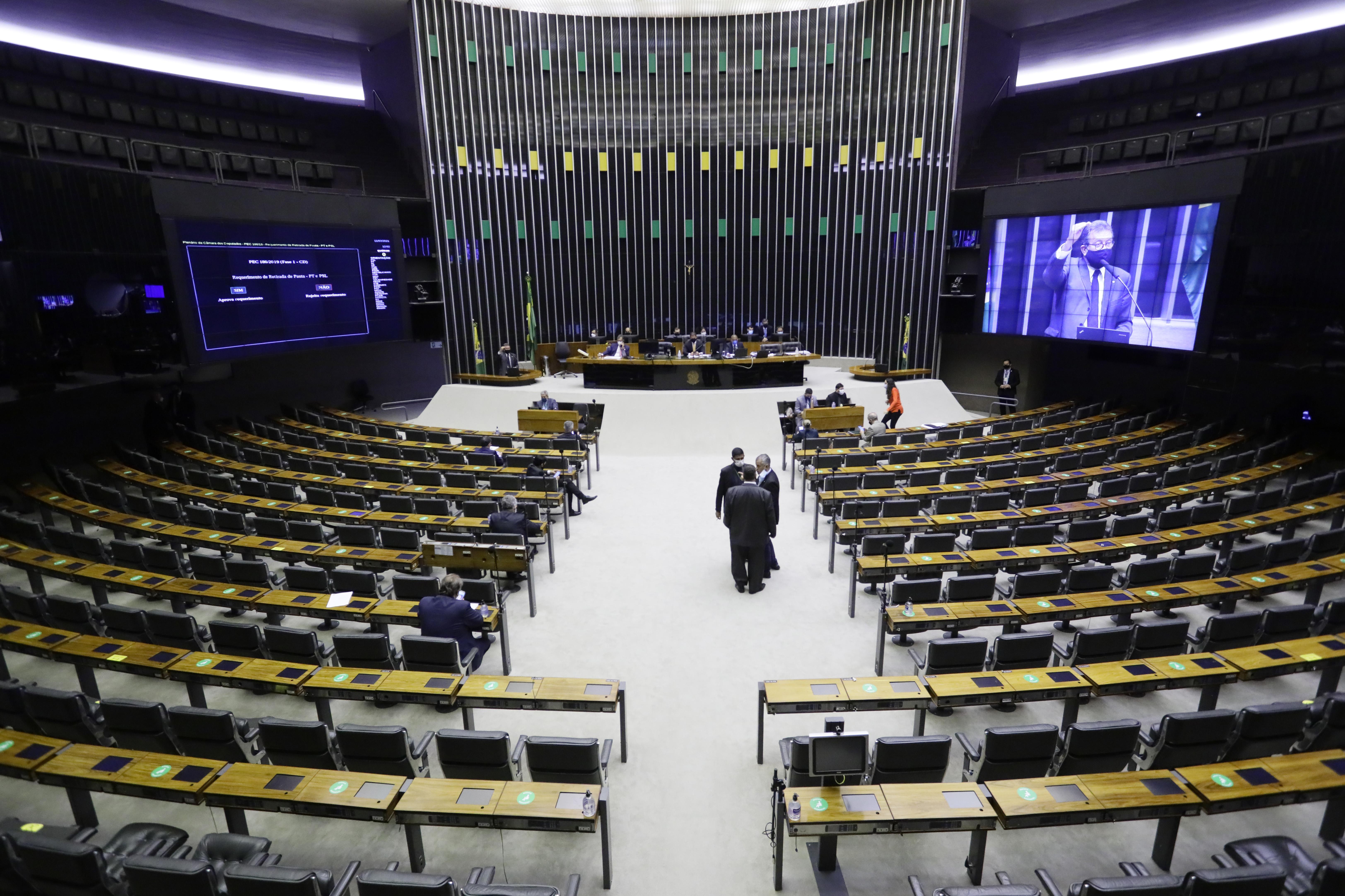 votação da PEC Emergencial