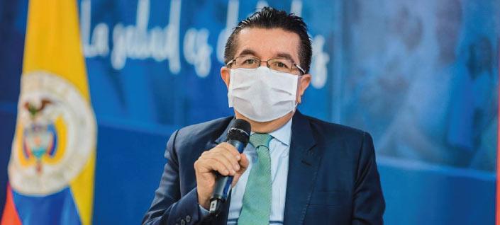 Fernando Ruiz Gómez, ministro da Saúde da Colômbia