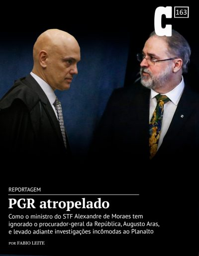 A queda de braço entre Moraes e Aras