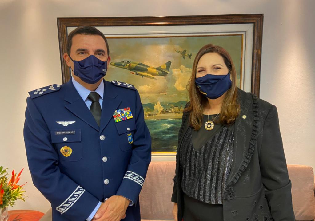 O elogio do comandante da Aeronáutica a Bia Kicis