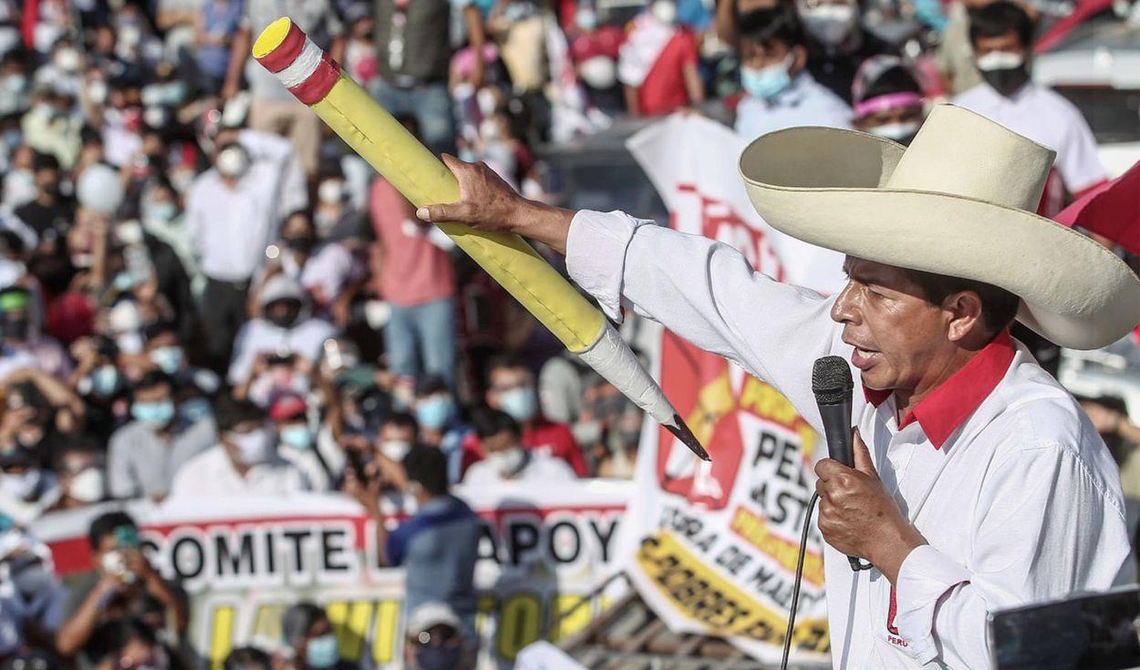 Contagem final no Peru dá vitória a Pedro Castillo por 0,25 ponto