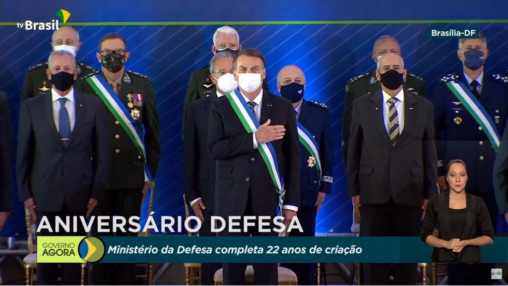 Braga Netto diz que Forças Armadas estão 'disciplinadas'