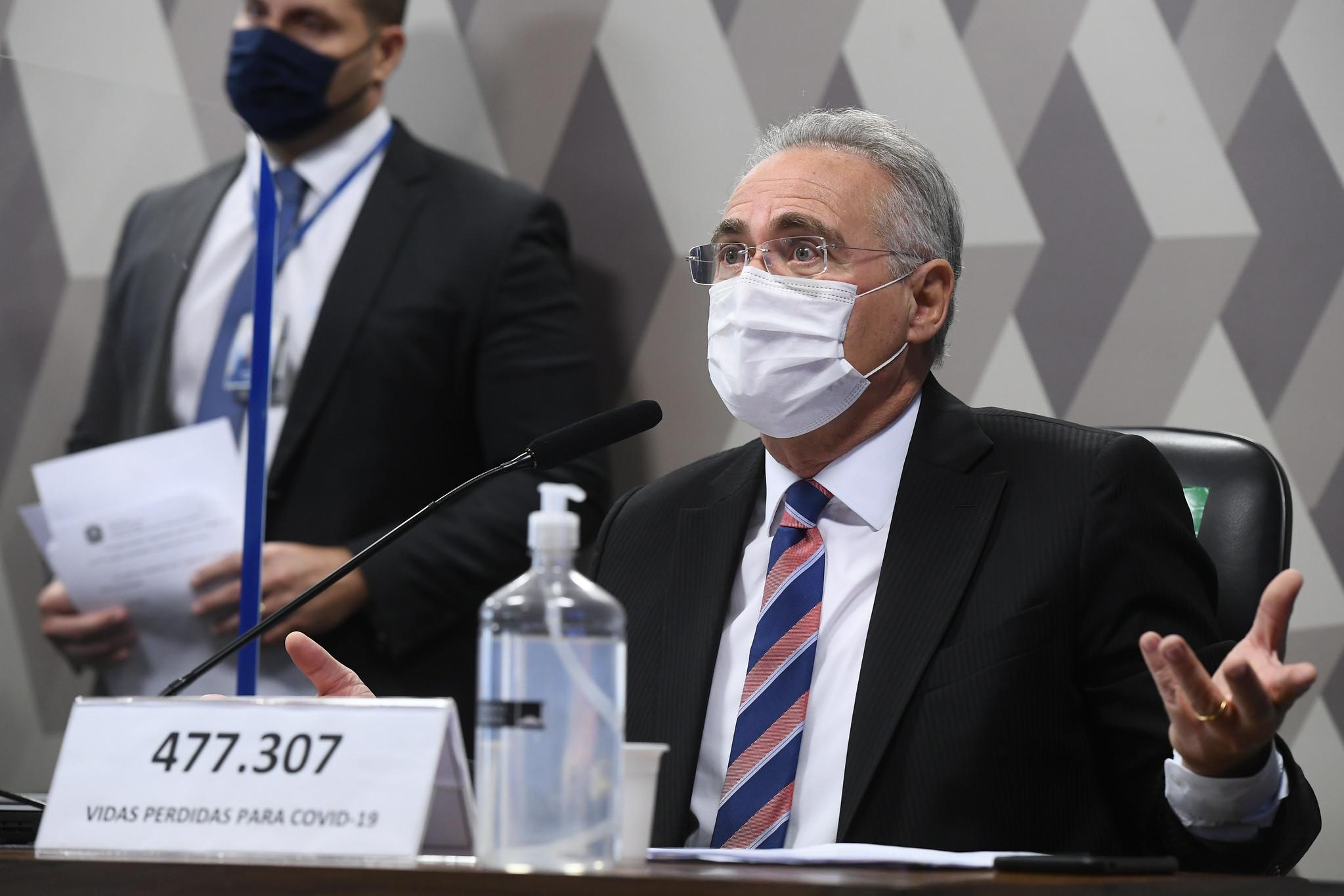 """""""Estamos investigando aqui se houve um genocídio no Brasil"""", diz Renan Calheiros"""